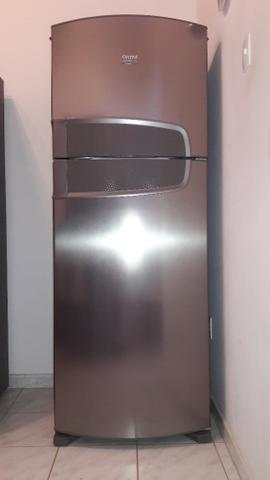 Geladeira Consul duplex em aço inox Frost Free 441 litros Semi nova - Foto 5