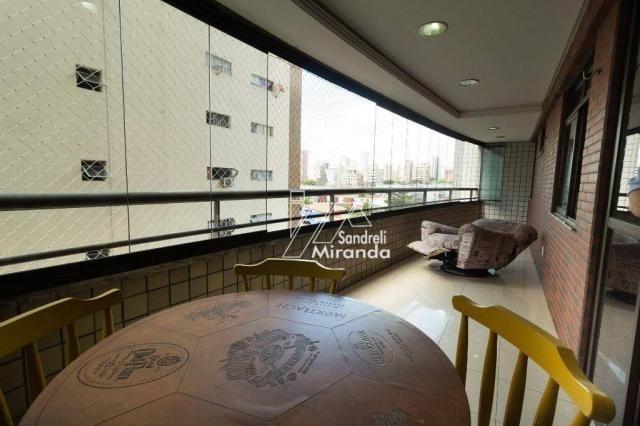 Apartamento com 3 dormitórios à venda, 158 m² por r$ 850.000 - aldeota - fortaleza/ce - Foto 5
