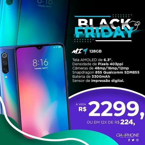Xiaomi Mi 9 azul 128gb Black Friday!