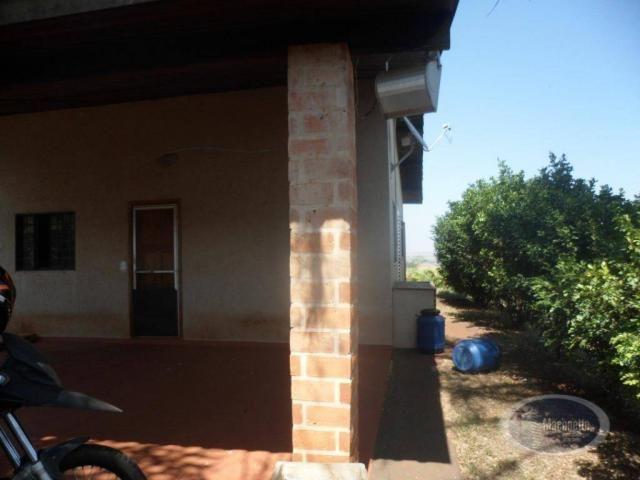 Chácara com 2 dormitórios para alugar, 500 m² por R$ 2.000/mês - Zona Rural - Ribeirão Pre - Foto 9