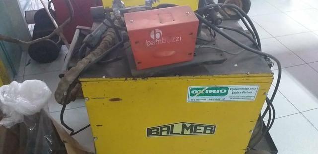 Maquina mig 450 Balmer