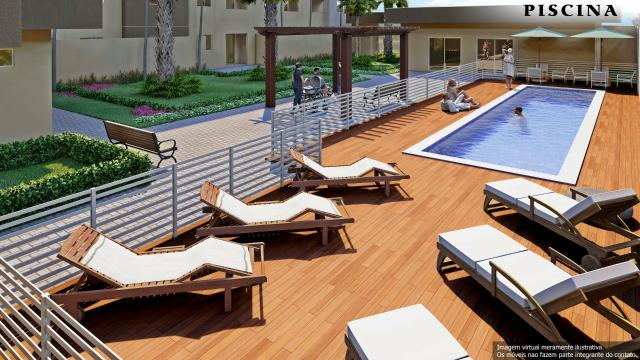 Venda- Apartamento tipo flat, novo,próximo ao Shopping Pantanal - Cuiabá MT