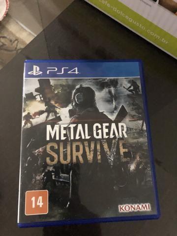 Metal gear survive jogo de Ps4