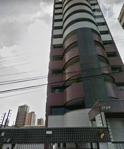 Apartamento com 3 dormitórios à venda, 127 m² por R$ 570.000 - Aldeota - Fortaleza/CE