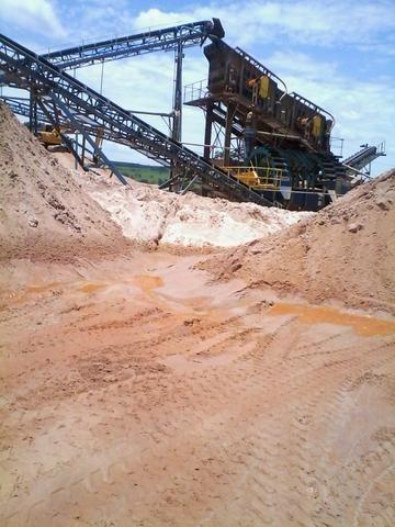 Areia fina industrial a ecologicamente correta 09 toneladas - Foto 2
