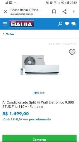 Ar condicionado Split 12 mil BTUs - Foto 2