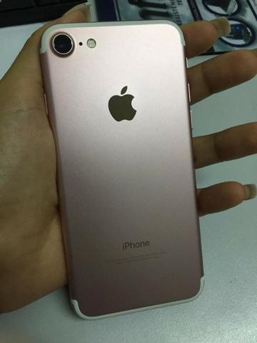 Celular Iphone 7 rose 32gb seminovo - Foto 5