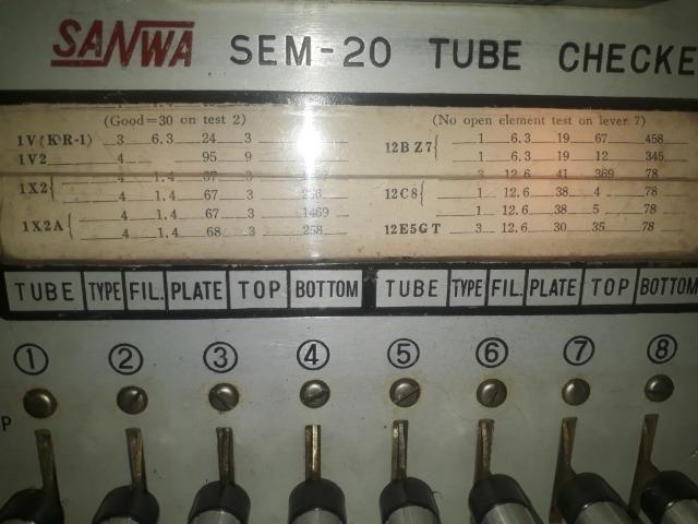 Testador de Valvulas de Radio e TV - Foto 3