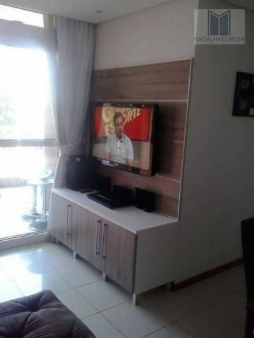 Apartamento com 3 dormitórios à venda, 80 m² por R$ 450.000 - Cocó - Fortaleza/CE - Foto 5