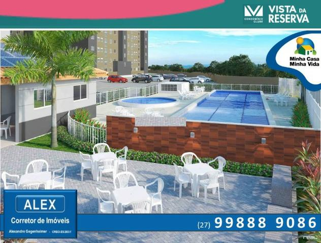 ALX - 66 - APÊ 2 quartos com parcelas a partir de R$499,00 - Foto 4