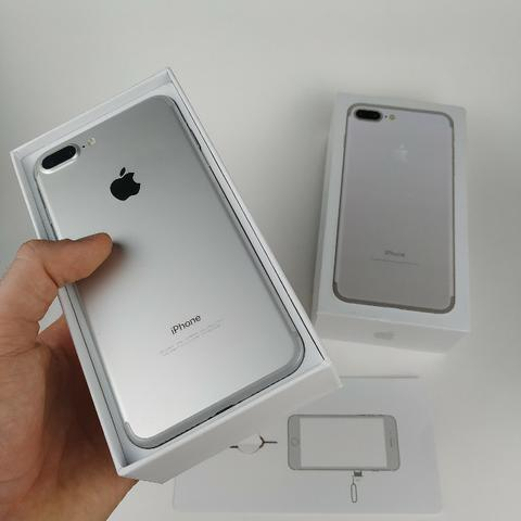 Lindo Iphone 7 plus 32GB Prata! Com Garantia - Foto 6