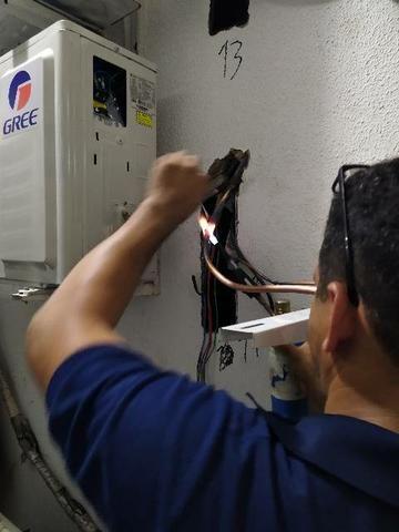 Instalação e Manutenção de ar condicionado e lavadora - Foto 3