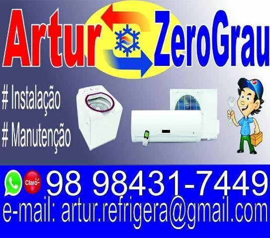 Instalação e Manutenção de ar condicionado e lavadora