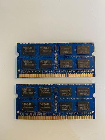 2x Pentes de Memória Original Apple Elpida 2GB - Foto 2