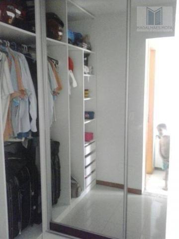 Apartamento com 3 dormitórios à venda, 80 m² por R$ 450.000 - Cocó - Fortaleza/CE - Foto 10
