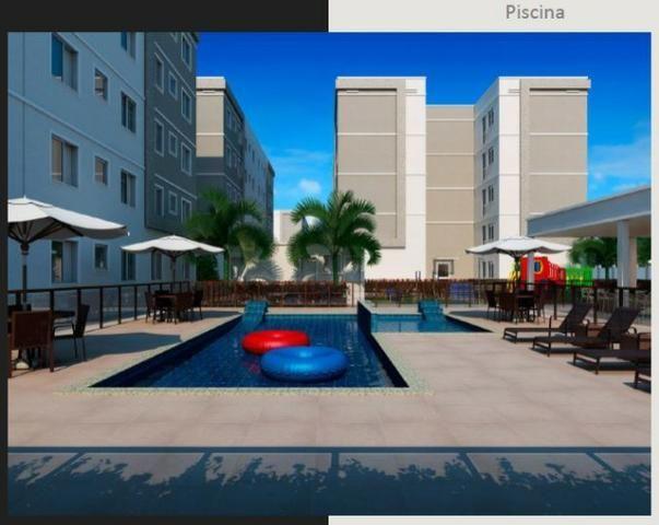 Apartamento 2Q Parque Macambira 100% financiado entrada facilitada - Foto 5