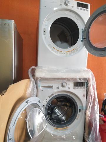 Vendo ou troco geladeira, máquina lavadoura e secadoura_ 62 999 810 656 - Foto 5