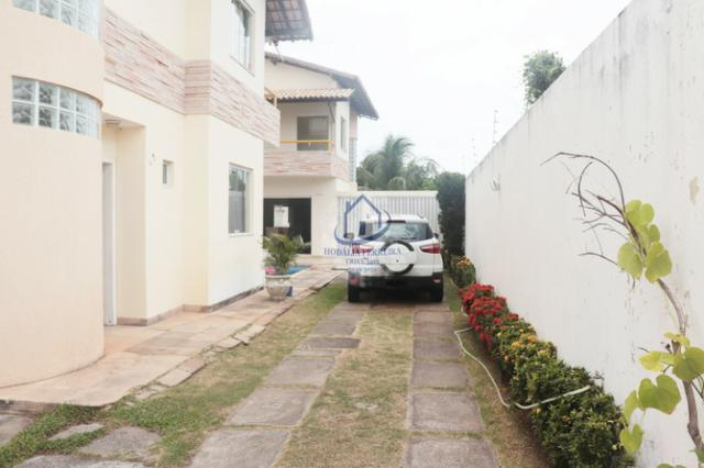Casa Moderna, Duplex com Piscina; 3/4 (1 Suíte), Garagem em Itapuã-HC074 - Foto 3