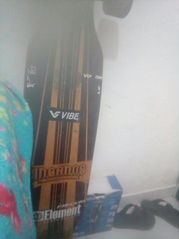 Vendo ou troco longboard