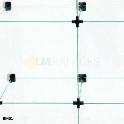 Balcao Caixa de Vidro 1,50 x 1,10 x0 ,30 Frete e Montagem gratis - Foto 5