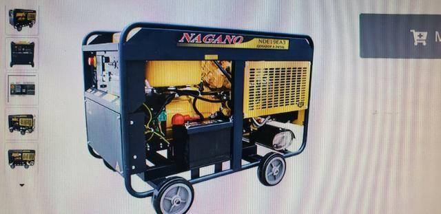 Gerador De Energia Nagano 21Kva