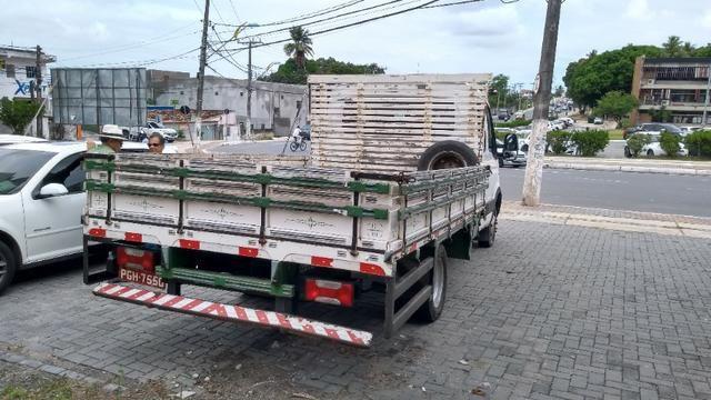 Vendo caminhão Iveco c55/17 12/13 cabine dupla com ar - Foto 10