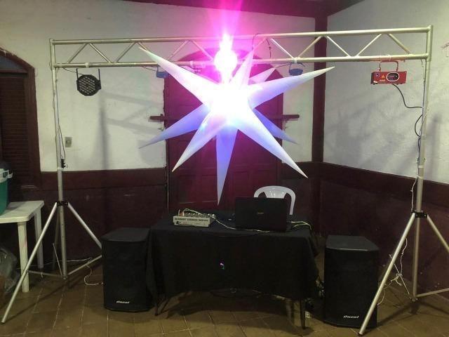 Som, iluminação e DJ - Foto 2