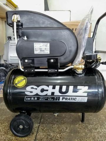 Compressor 2HP 120 Libras 25 Litros - Schulz