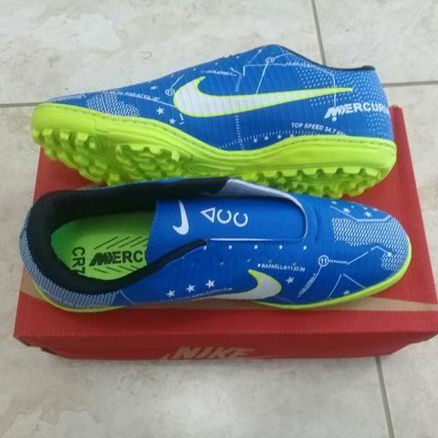7e92d5fb1a Chuteira Society Nike Mercurial Tf Neymar Jr número 41 - Esportes e ...