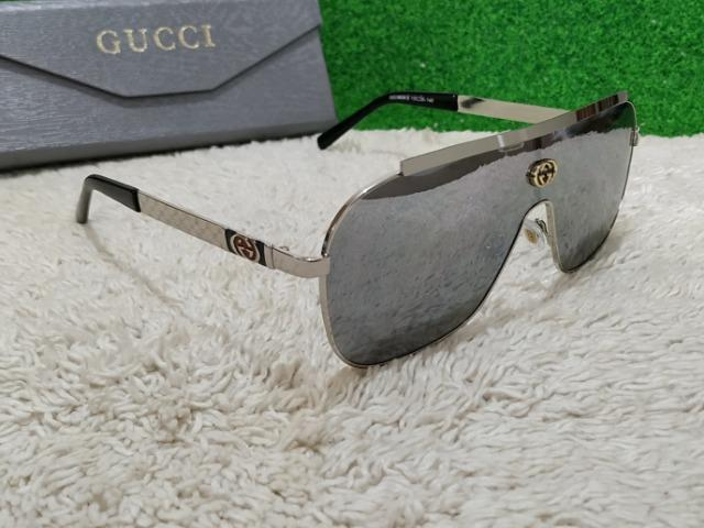 Óculos Gucci Mask   máscara prateado - Bijouterias, relógios e ... 485fdb8b62