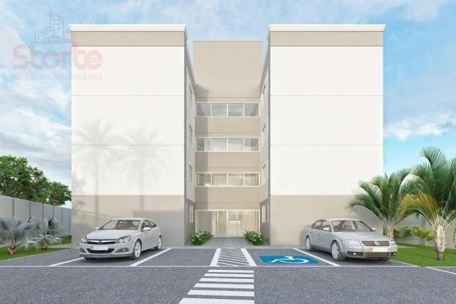 Apartamento com 2 dormitórios à venda, 43 m² a partir de R$ 125.000 - Shopping Park - Uber - Foto 4