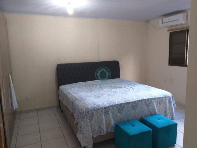 Casa com 4 dormitórios à venda, 220 m² por R$ 380.000 - Cohafama - Campo Grande/MS - Foto 7