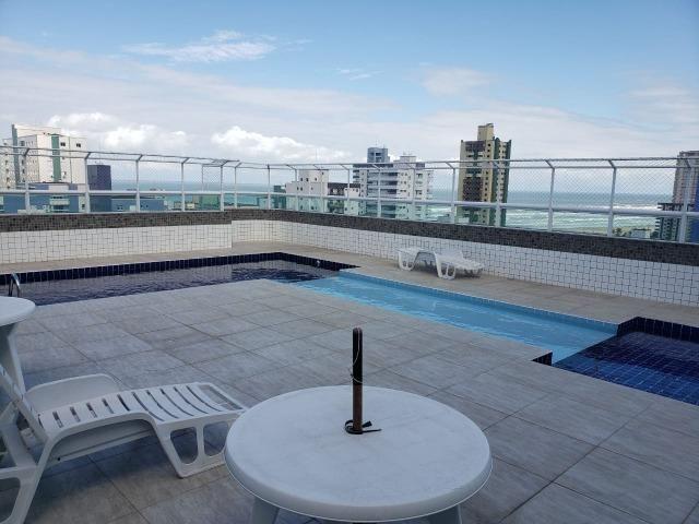 (Thamir) Apartamento 2 dormitórios 150 metros da praia, no bairro da Guilhermina - Foto 18