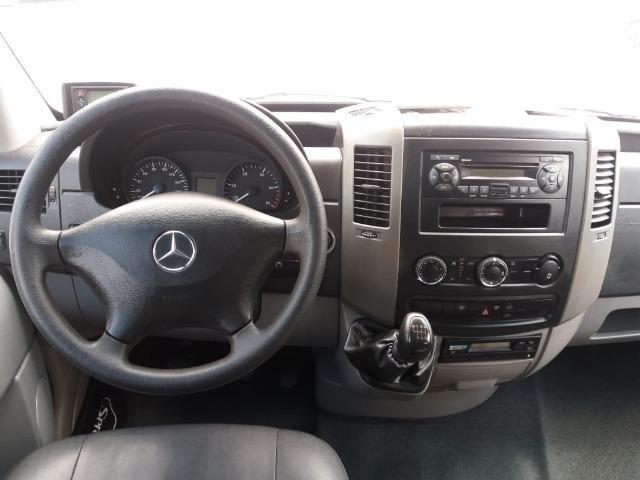 Mercedes-benz Sprinter Van 2.2 Cdi 415 Branca 2019 Escolar - Foto 8