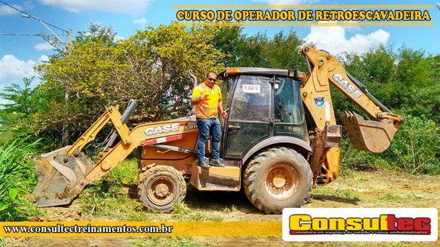 Curso de Operador de Retroescavadeira R$ 400,00 Inicio 23-11-2020 - Foto 4