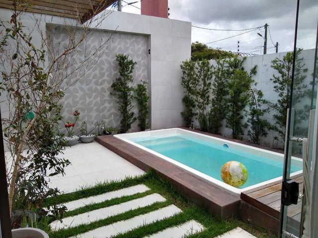 Casa em condomínio fechado, 3/4 um suíte c closet, piscina, área gourmet  - Foto 20