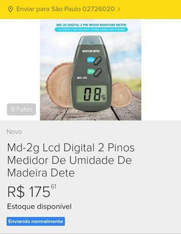 Medidor de Umidade de Madeira Novo - Foto 4