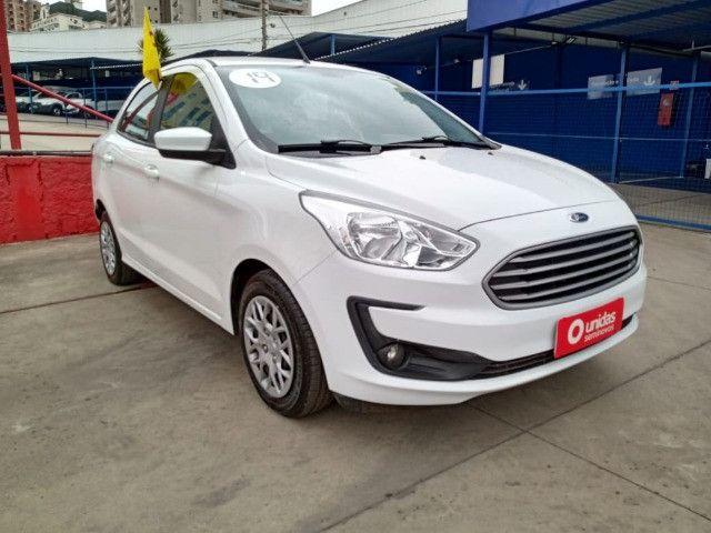 Ford ka + 1.0 2019 baixo km e com multimidea doc+transferencia gratis - Foto 2