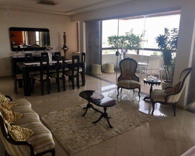Amplo apartamento no Ed. Solar de Ainá - 3 suítes, estilo clássico, andar alto, bairro do  - Foto 6