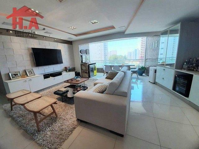 Apartamento com 3 dormitórios à venda, 136 m² por R$ 950.000,00 - Aldeota - Fortaleza/CE