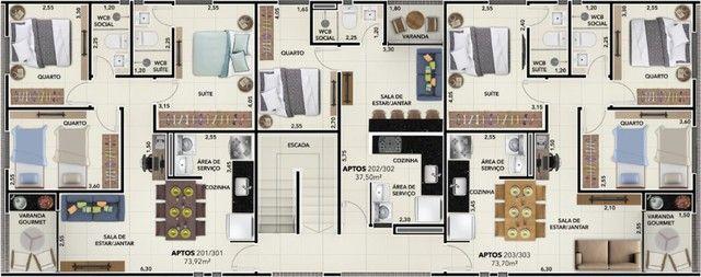 Apartamento para Venda - Tambauzinho, João Pessoa - 37m², 1 vaga - Foto 7