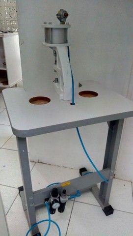 Máquina de pregar botão de pressão - Foto 5