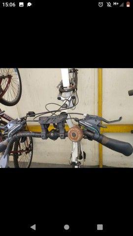 Bicicleta Tito Urban - Aro 700 - 21 Marchas, com paralamas - Foto 3