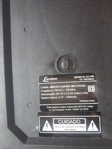 Caixa Amplificadore Lenoxx (n está funcionando) - Foto 3