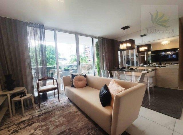 Apartamento com 3 dormitórios à venda, 127 m² por R$ 1.273.818 - Aldeota - Fortaleza/CE - Foto 6