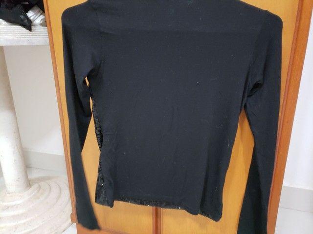 Blusa preta de frio  - Foto 2