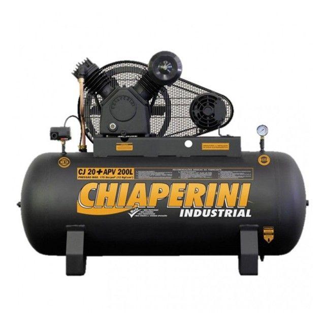Compressor APV 20/200 5Cv Trifásico Chiaperini