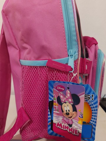 Mochila nova com lancheira da Minnie - Foto 4