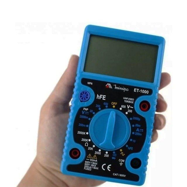 Multímetro Digital ET1000 Minipa - Foto 2