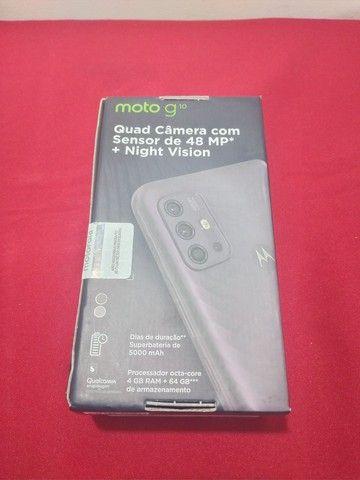 Celular Motorola moto g10 64 GB novo lacrado+nota fiscal  - Foto 4